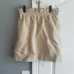 Light tan skirt